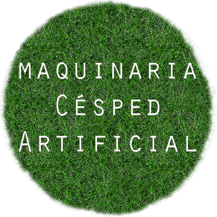 maquinaria para csped artificial